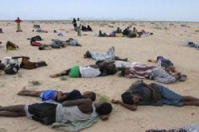 Ethiopian bodies at Yemen coast