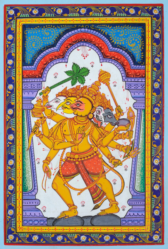 patachitra-hanuman