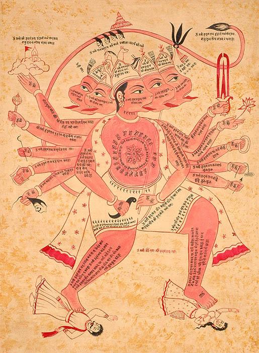 Multiple Hanuman Jayanti